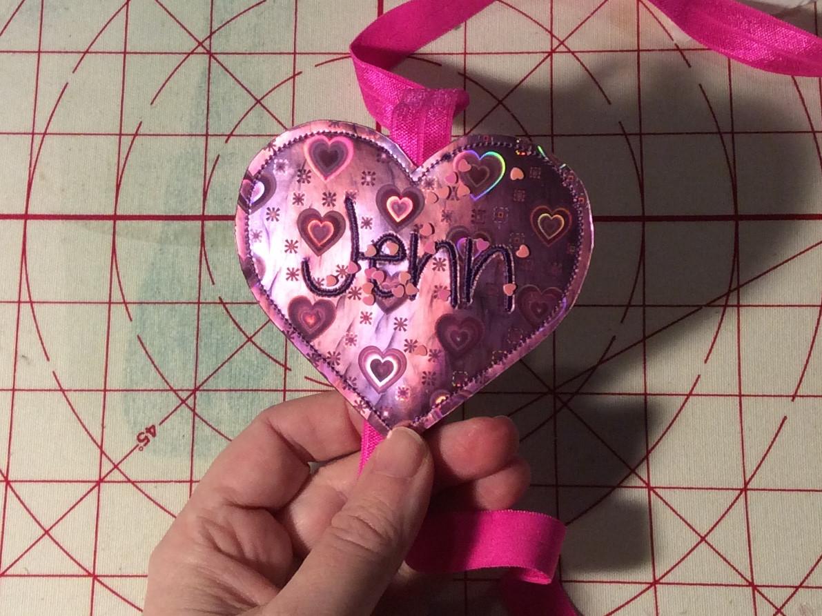 Heart slider book band
